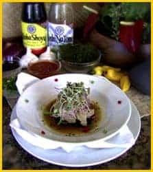 Hawaiian Style Ceviche