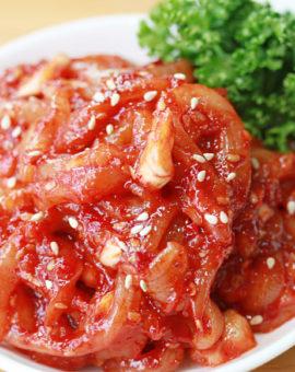 국산오징어젓 Salted Squid