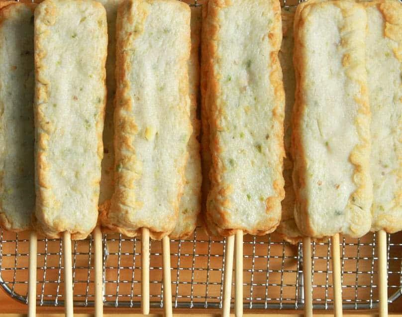 쌀로만든 고추핫바 Chili Stick Fish Cake