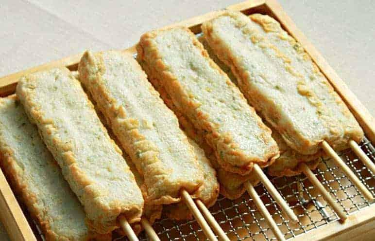 쌀로만든 고추핫바 Chili Stick Fish Cake3