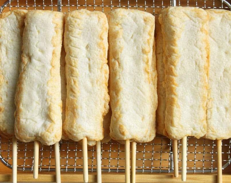 쌀로만든 양파핫바 Onion Stick Fish Cake