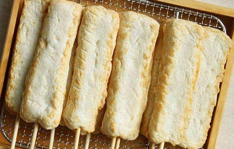 쌀로만든 양파핫바 Onion Stick Fish Cake3