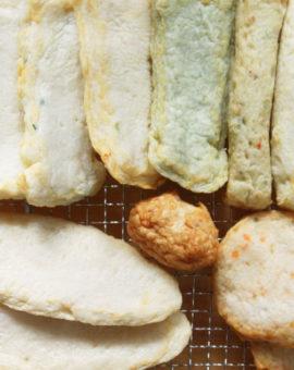 쌀로만든 종합어묵 Assorted Fish Cake
