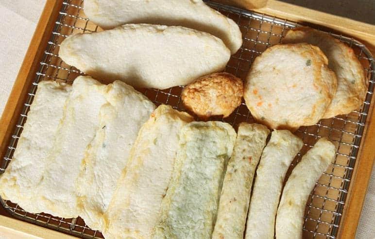 쌀로만든 종합어묵 Assorted Fish Cake2