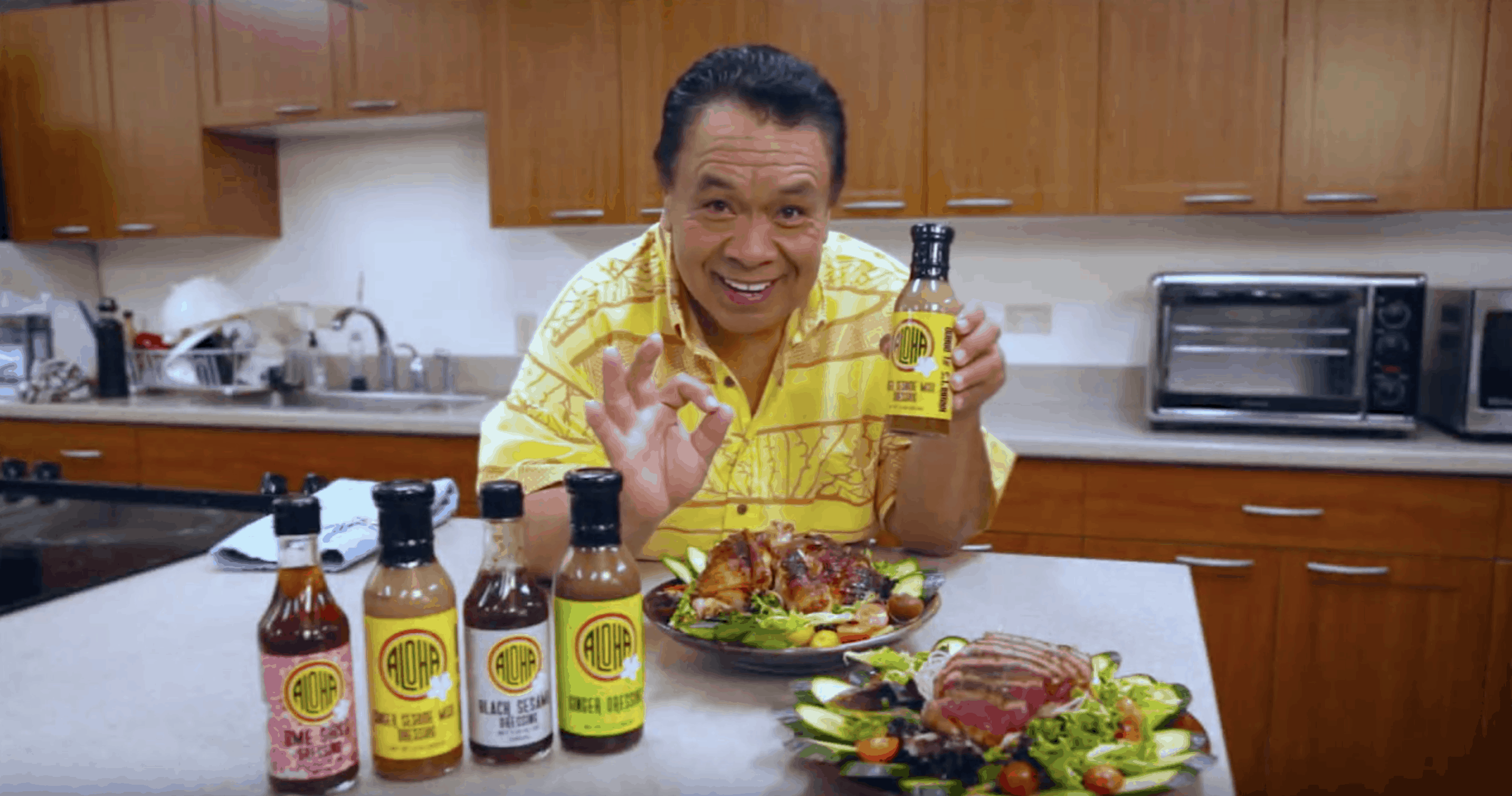 Check Out Our New Aloha Dressings!